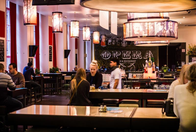 bar of PLUS BERLIN
