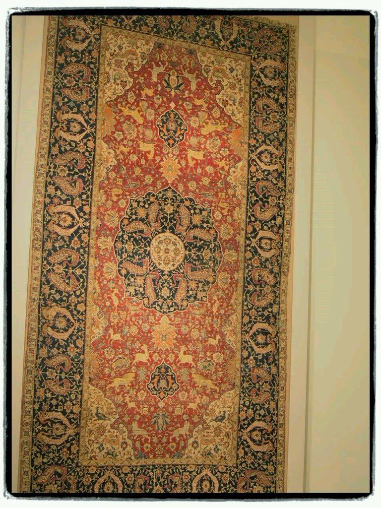 オスマントルコ時代の絨毯