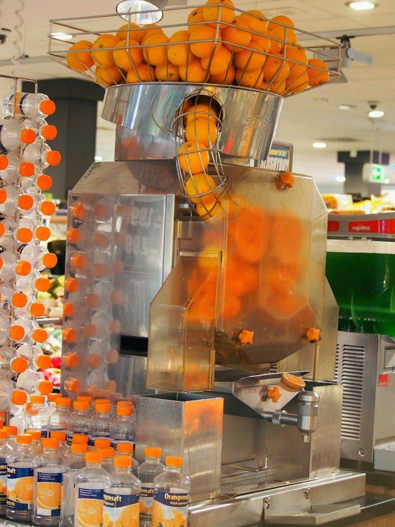 オレンジジュース装置