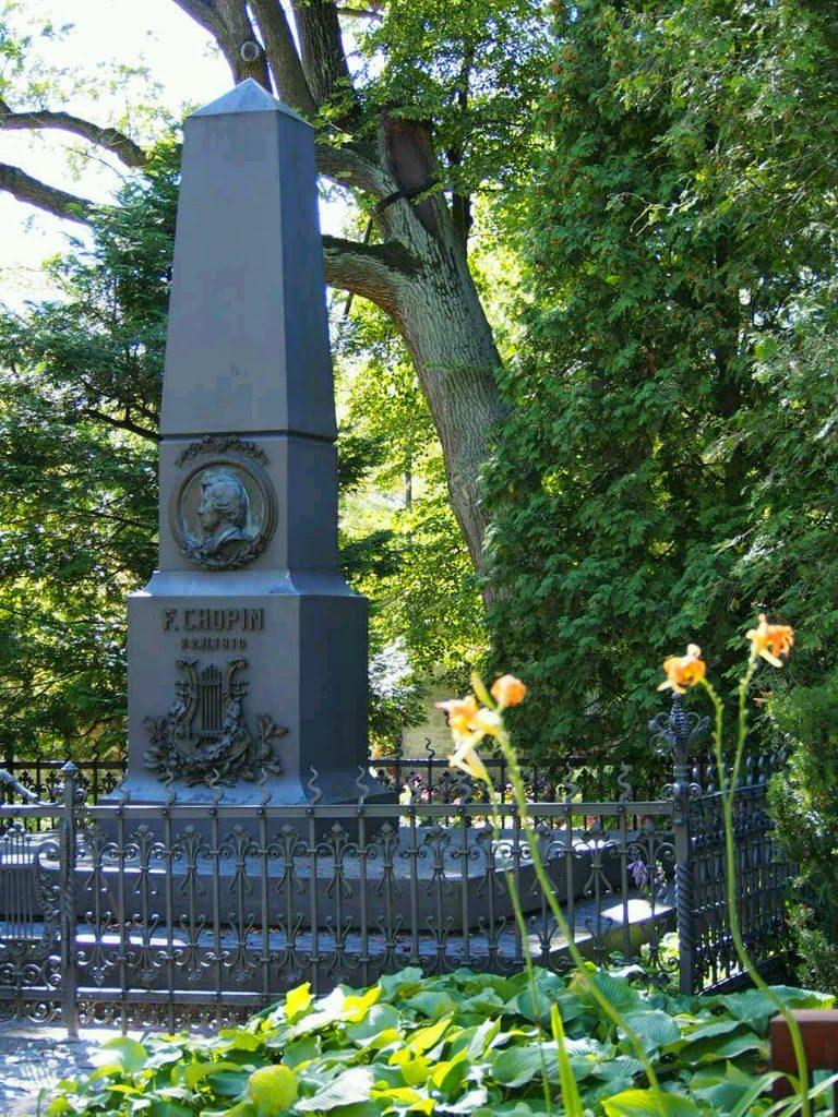 ショパンの碑