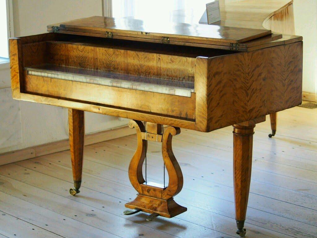 ショパンが使っていたピアノ